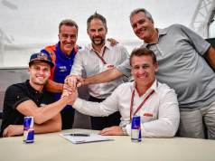 Brand Binder signed by Red Bull KTM Tech3 MotoGP team for 2020