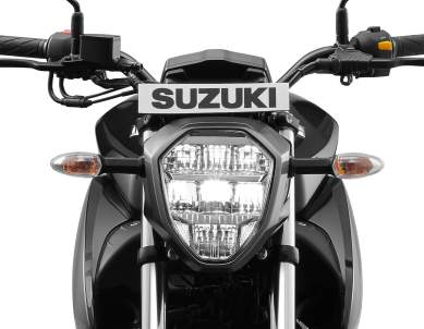 New updated Suzuki Gixxer - LED headlamp