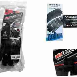 ViaTerra Holeshot gloves box contents