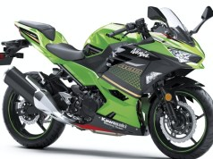 Kawasaki Ninja 400 Lime GreenEbony (KRT edition)