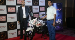 TVS Sport sets record on-road mileage of 76.4 kmpl