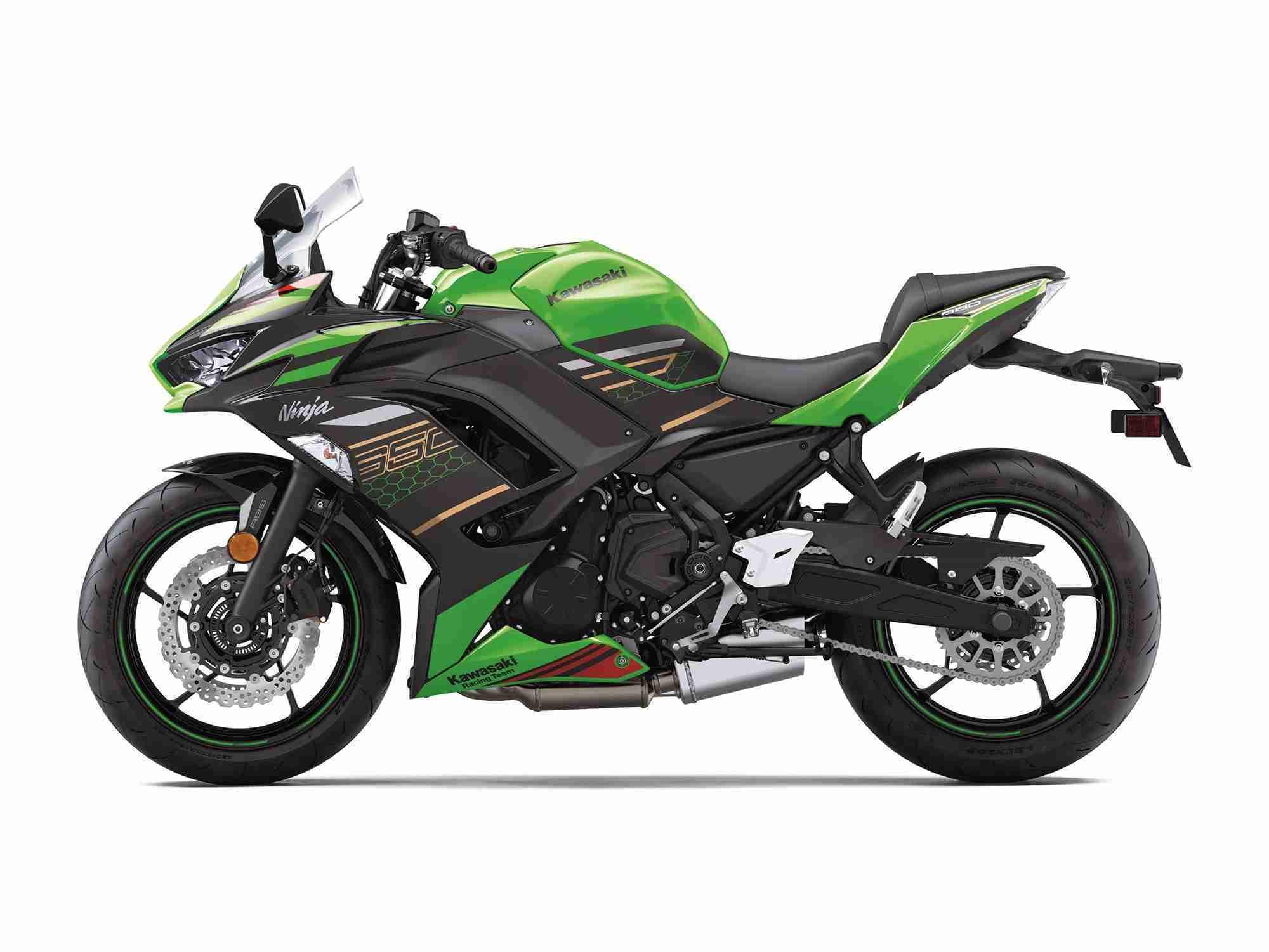 2020 Kawasaki Ninja 650 HD black colour option