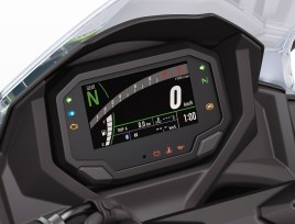 2020 Kawasaki Ninja 650 instrument display meters