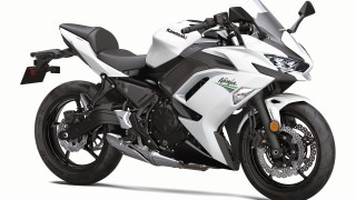 2020 Kawasaki Ninja 650 white colour option