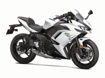 2020 Kawasaki Ninja 650 white colour option