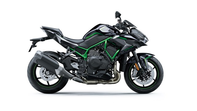 Kawasaki Z H2 HD wallpaper side view