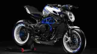 MV Agusta Dragster Pirelli Blue