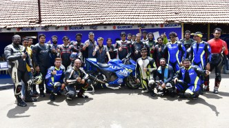 Suzuki Media Endurance Race participants 2019