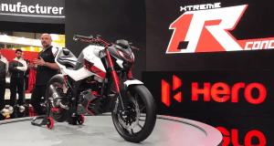 Hero Xtreme 1.R concept at EICMA 2019