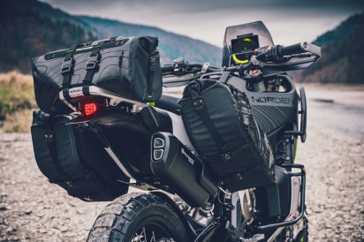 Husqvarna Norden 901 concept luggage options