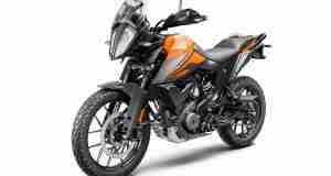 KTM 390 Adventure orange colour option