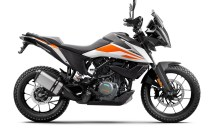 KTM 390 Adventure official pics white colour option