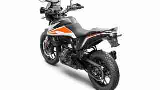 KTM 390 Adventure official pics white colour option