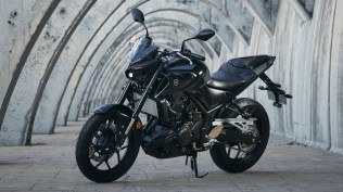 Yamaha MT-03 with power pack