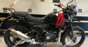 2020 BS6 Royal Enfield Himalayan spy shot