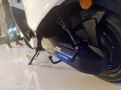 TVS iQUBE electric scooter motor