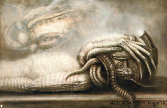 Aliens Concept Art