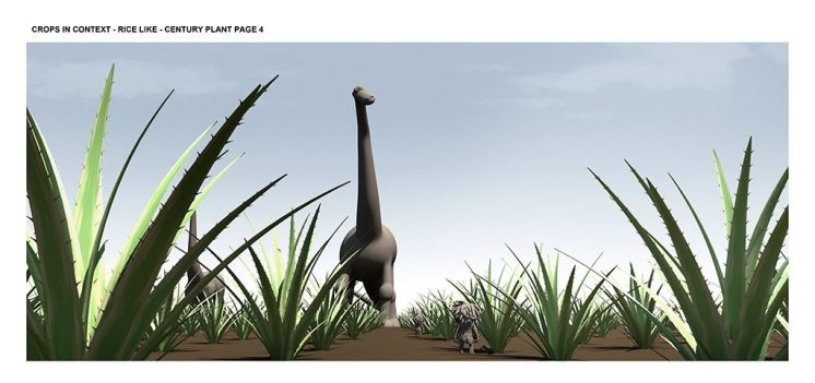 Making of the Good Dinosaur - Courtesy of Disney•Pixar