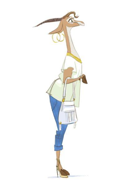 Zootopia Character Design Artist : The art of zootopia original character design