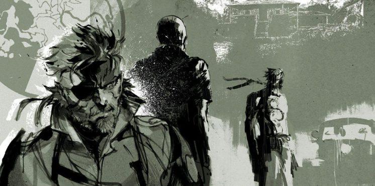 Metal Gear Solid Artwork: The Art Of Metal Gear Solid V, The Phantom Pain : 50