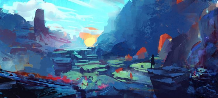 The Art of Denis Istomin