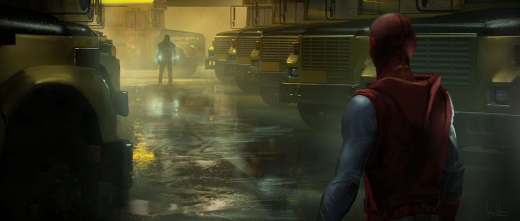 The Art of Spiderman: Homecoming