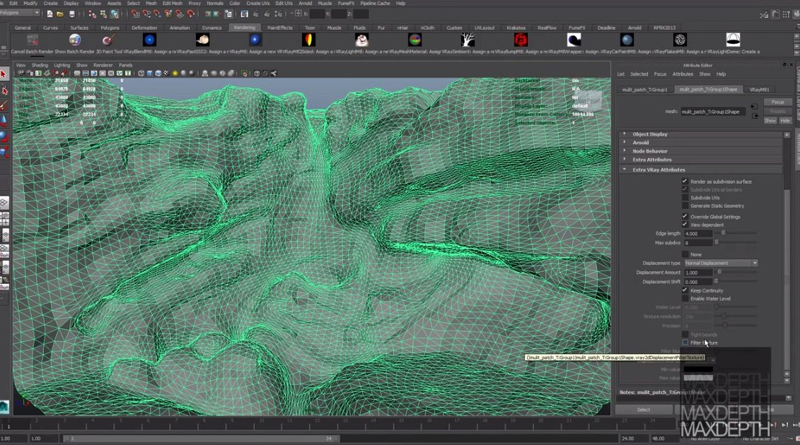 Zbrush Multi Map Exporter for Vray and Maya Zbrush Multi Map Exporter