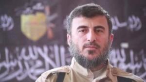 قائد جيش الاسلام زهران علوش