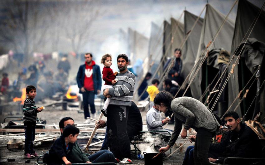 لاجئ سوري في لبنان