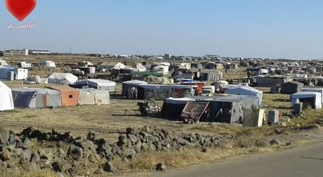 مصير مجهول لآلاف النازحين على حدود الجولان