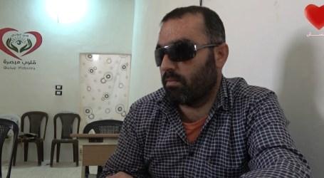 بالفيديو … مبادرة من ناشطين سوريين لمساعدة المكفوفين