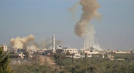 قصف النظام السوري يحرق زيتون إدلب
