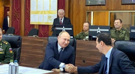 بشار الأسد : شكراً لكل طيار روسي شارك في قصف السوريين
