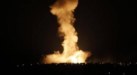 بعد قتل سليماني : الطيران الأمريكي يقصف مواقع إيرانية في الدير الزور