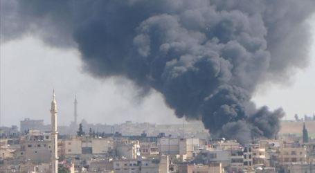 غارات جوية تستهدف مدينة إدلب في الساعات الأولى لـ2020