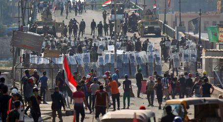 قتلى بصفوف المتظاهرين على يد قوات الأمن العراقية في بغداد