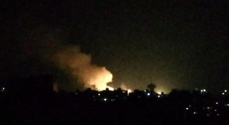 إسرائيل تقصف مواقع في مصياف وتوقع خسائر بشرية ومادية