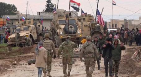 إصابة جنديين أميركيين خلال اعتراض دورية أميركية في الحسكة