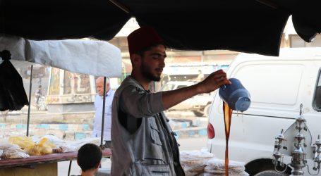مائدة رمضان تجمع أصناف المأكولات العربية والكردية في عفرين