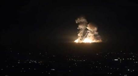 قصف اسرائيلي لمواقع ايرانية قرب السويداء ومناطق مختلفة في سورية