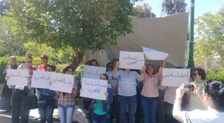 السويداء.. وقفة نسائية تطالب بإطلاق سراح المعتقلين قبل تحويلهم إلى دمشق