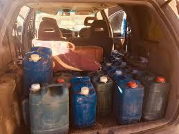 مقطع مصور يوثق تهريب البنزين من لبنان إلى سوريا
