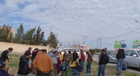 أردنيون يعتصمون للمطالبة بفتح الحدود مع سوريا