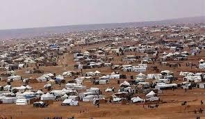 أجهزة أمنية وقضائية داخل مخيم الركبان على الحدود السورية الأردنية