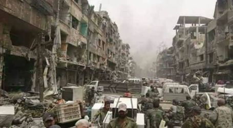 التعفيش مستمر في مخيم اليرموك والسلطة السورية المتهمة الأولى