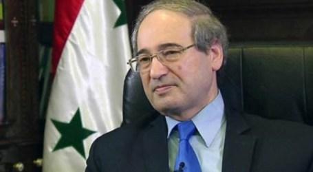 فيصل المقداد يشترط على واشنطن الانسحاب من سوريا لفتح الحوار ويهدد ويتوعد