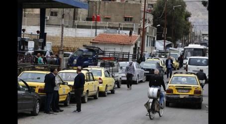 ارتفاع سعر البنزين في سوريا تزامنا مع  انفجار صهاريج نفط للقاطرجي بحمص