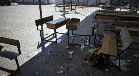 طلاب في حلب يقدمون امتحانهم النصفي على حسابهم الخاص وسط فوضى عارمة