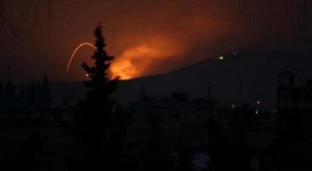 الأقمار الصناعية تلتقط صورا للمواقع التي قصفتها أمريكا في سوريا