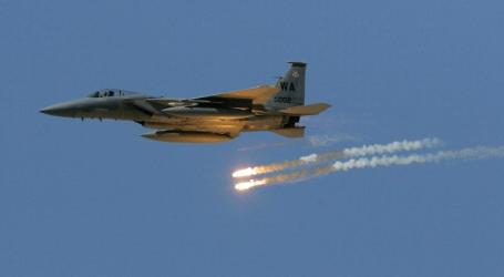 قصف أمريكي لمواقع إيرانية في بادية السويداء